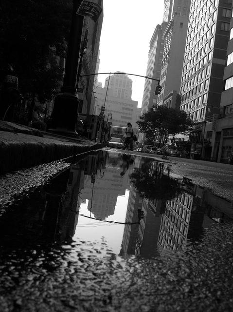 Reflexions new yorkaises reflet