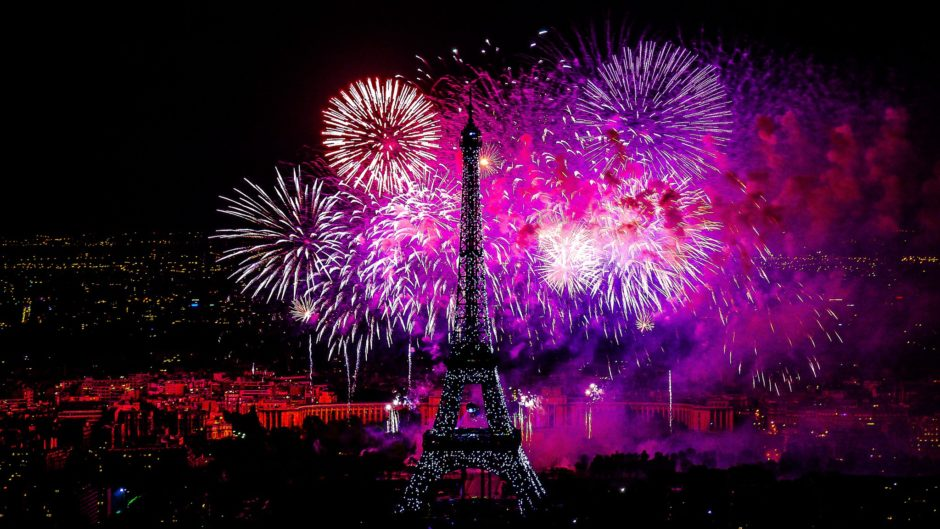 feu d artifice paris
