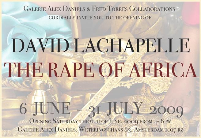 lachapelle the rape of africa