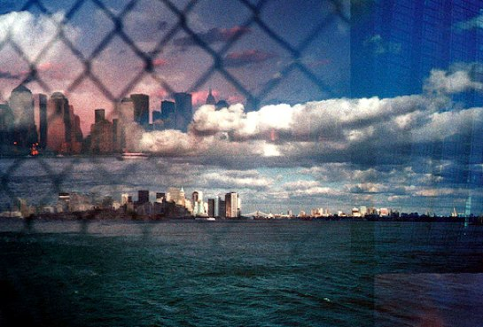 NYC Double Exposure