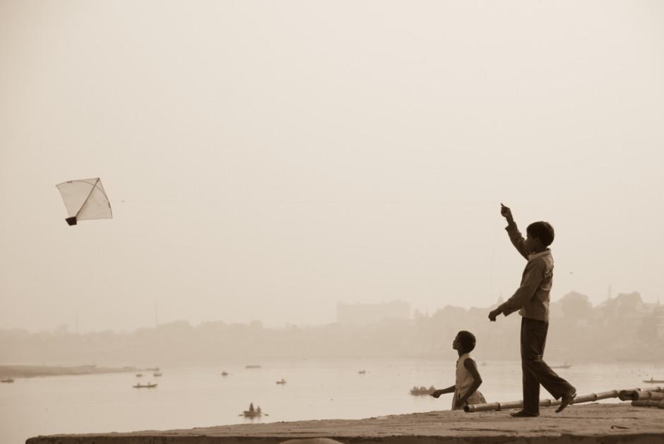 Sur les bords du Gange en Inde - © Damien Roué