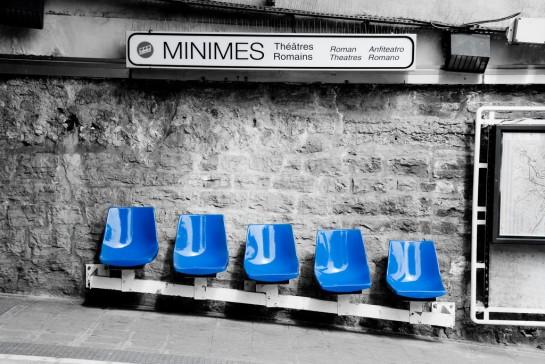 Les minimes c'est des bleus !