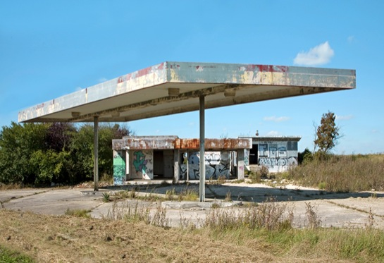 Twentysix Abandoned Gasoline Stations 2