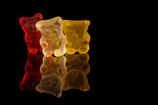 Three Gummy Bears