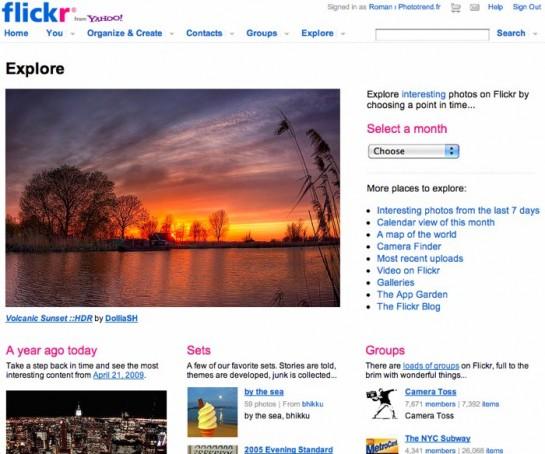 Flickr_ Explore