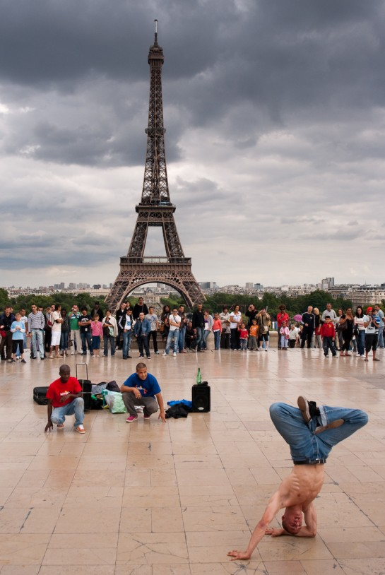 Breakdance on the Trocadero