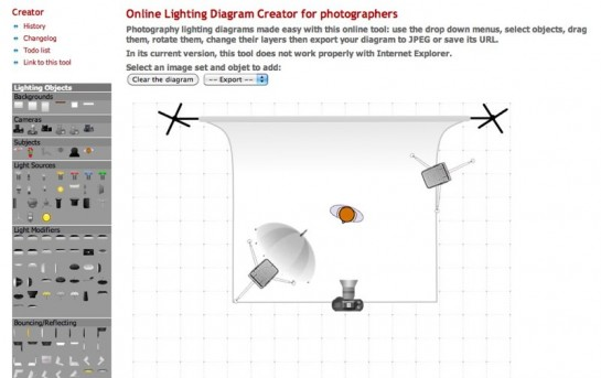 Lighting Diagram Creator