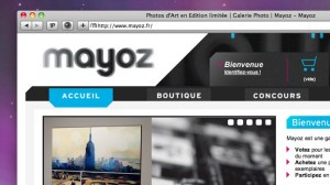 Mayoz - Site Web
