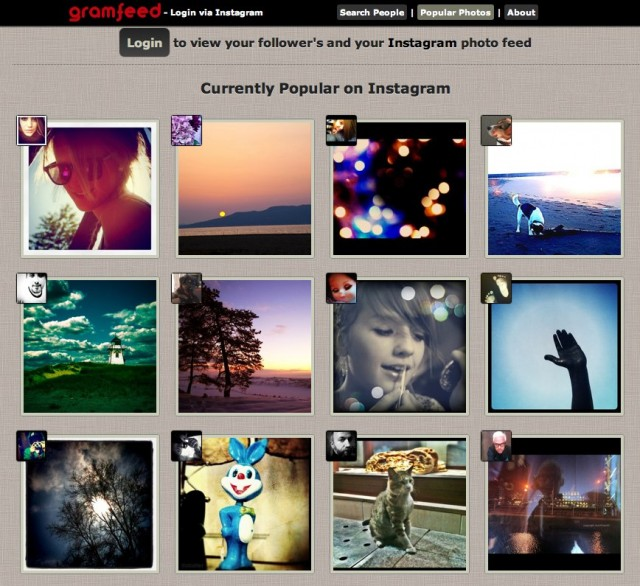 Gramfeed | Photo Feed from Instagram