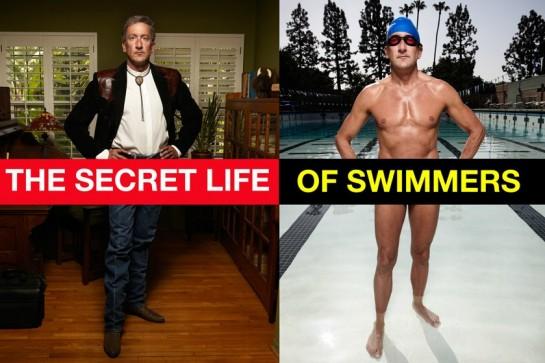 The secret life of swimmers, par le photographe Judy