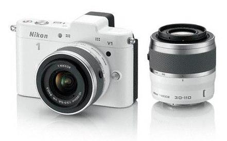 Nikon 1 V1 blanc 30 110