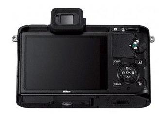 Nikon 1 V1 noir back