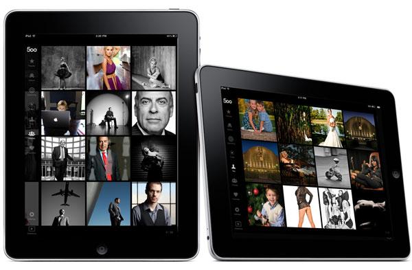 500 px sur iPad