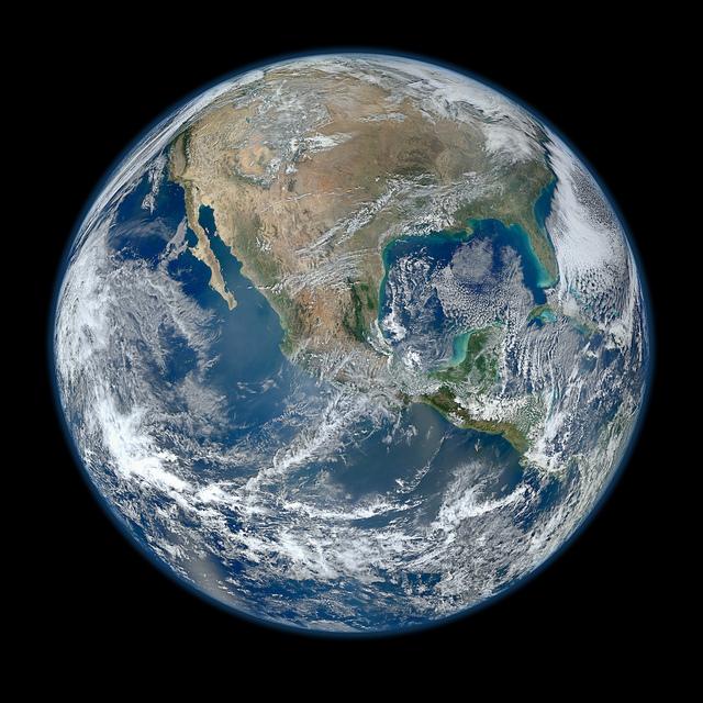 Planète Terre en haute définition