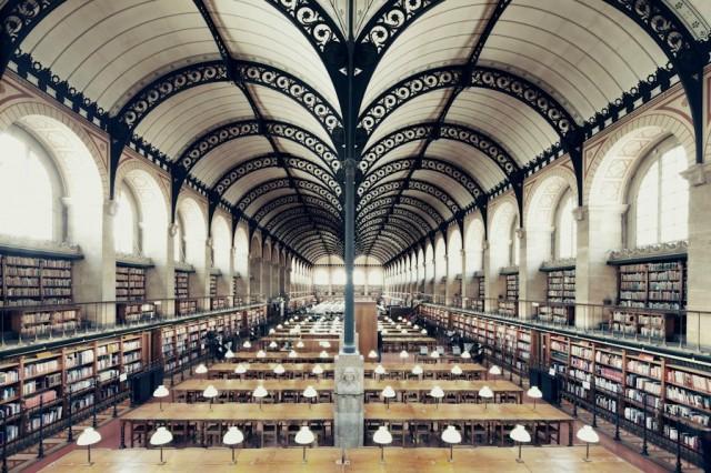 Bibliothèque Sainte Genevieve - Paris