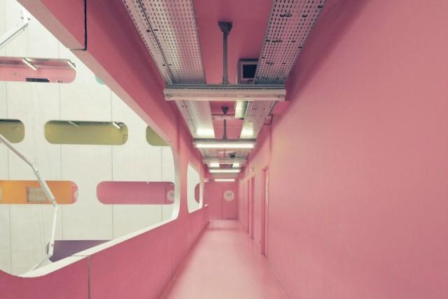 Couloir rose - Jussieu