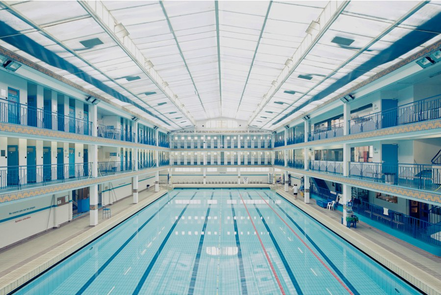 Franck bohbot respect the architect for Piscine odeon