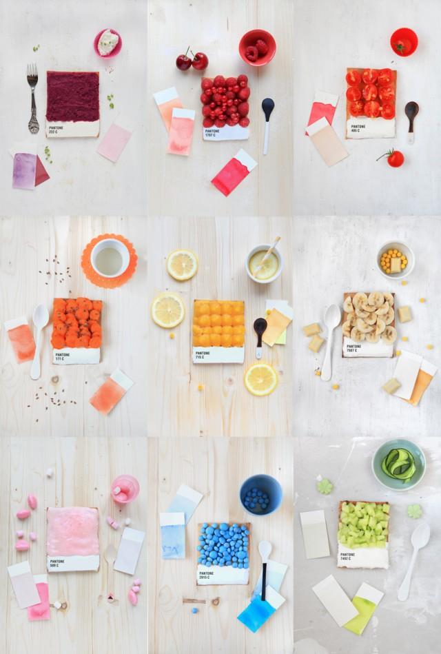 Les tartes Pantone d'Emilie Guelpa