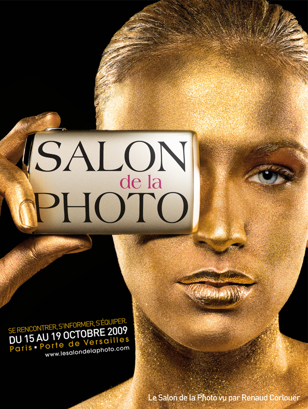Affiche du Salon de la Photo - 2009 - par Renaud CORLOUER