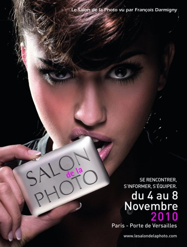 Affiche du Salon de la Photo - 2010 - par François DARMIGNY