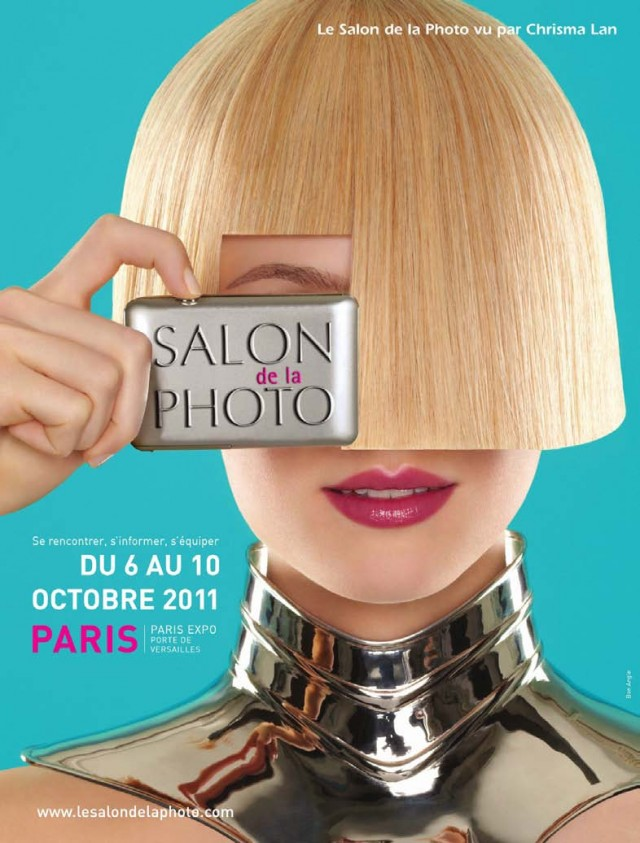 Affiche du Salon de la Photo - 2011 - par Chrisma LAN