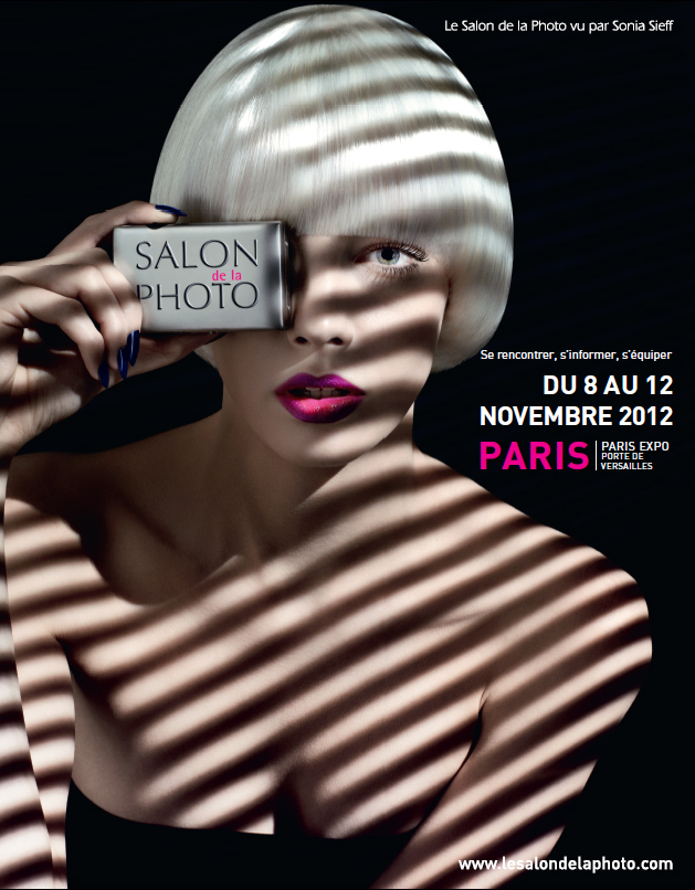 Affiche du Salon de la Photo - 2012 - par Sonia SIEFF