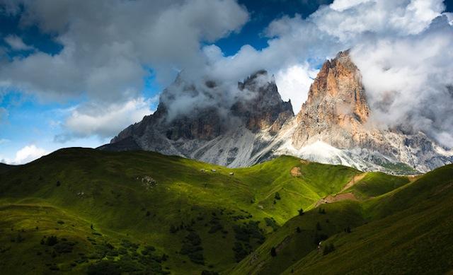 Les Dolomites après la tempête