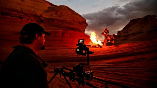 Behind the scene Timescapes