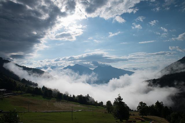 De la brume dans la vallée