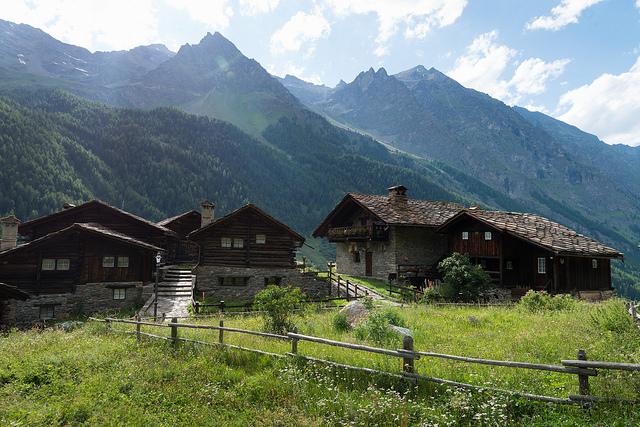 Le village de Tignet