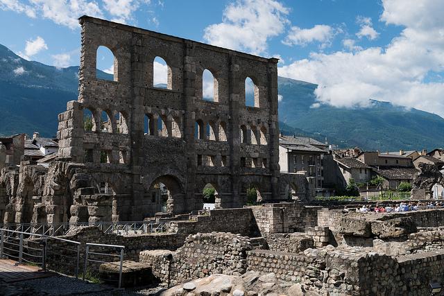 Théâtre romain d'Aoste