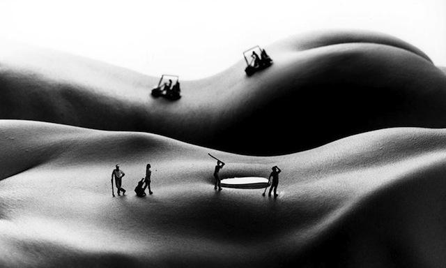 Allan teger body landscapes