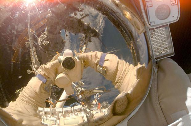 Astronaute photographe