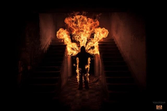 Torche Humaine - Von Wong