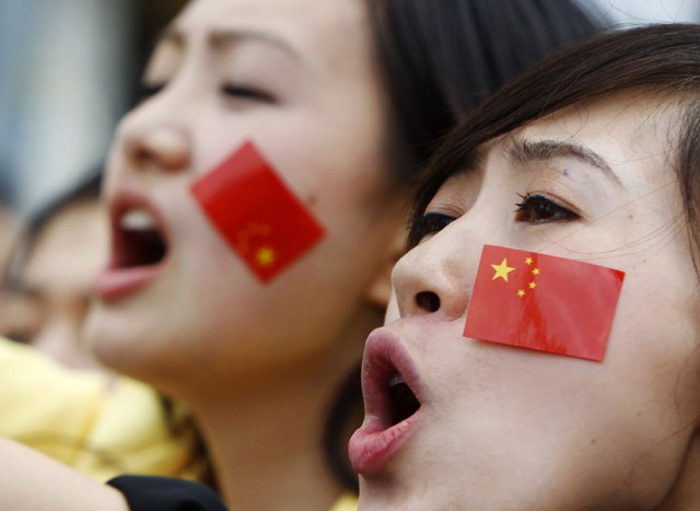 Manifestation Chine-Japon