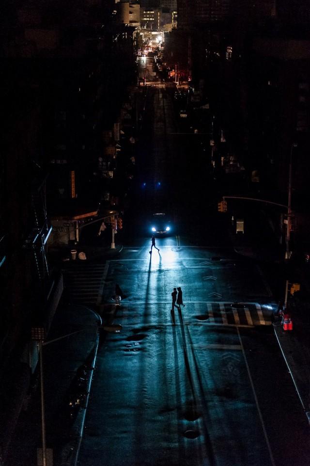 NYC Post-Sandy Blackout.