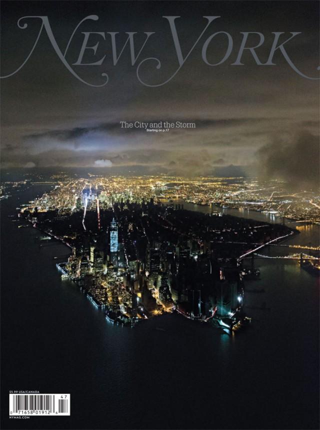New York sans eléctricité : vue aérienne