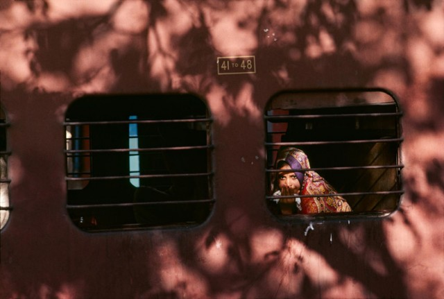 Steve McCurry Indian Railway