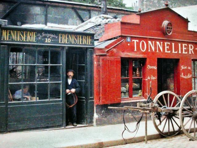 Le Paris du début du siècle