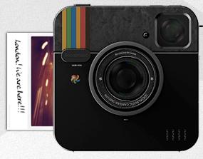 Socialmatic, l appareil photo Instagram devient réalité grâce à Polaroid 84d1a7819c97