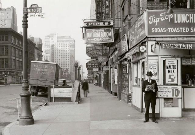 Dans les rues de New York