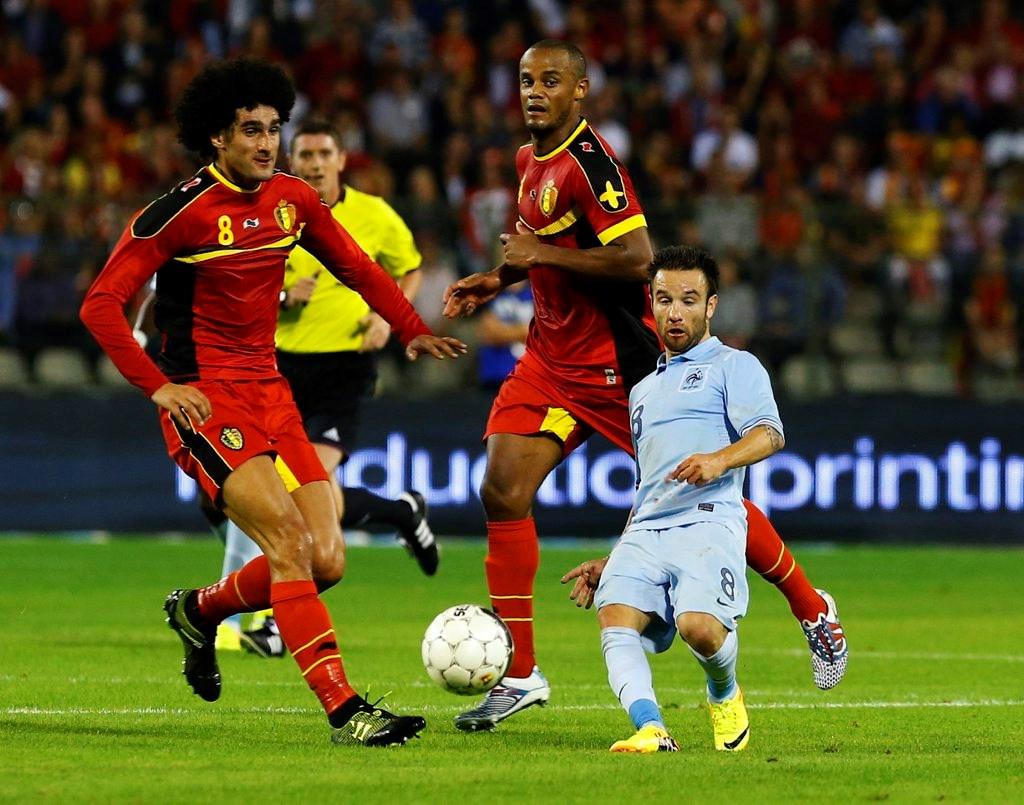 Illusion d'optique et football