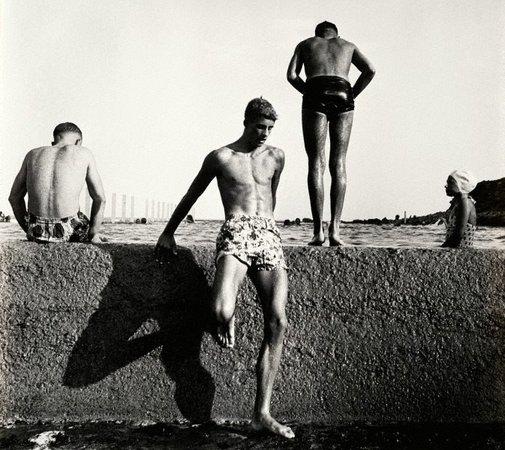 At Newport, 1952