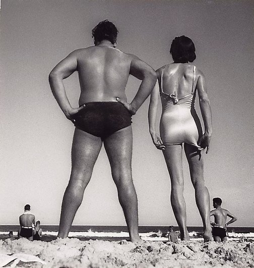 At Bondi, 1939