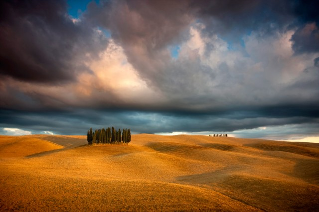 Les reliefs de Toscane