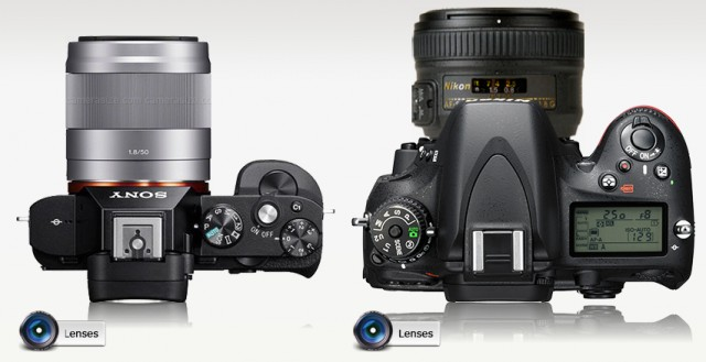 Sony A7 vs Nikon D610 2