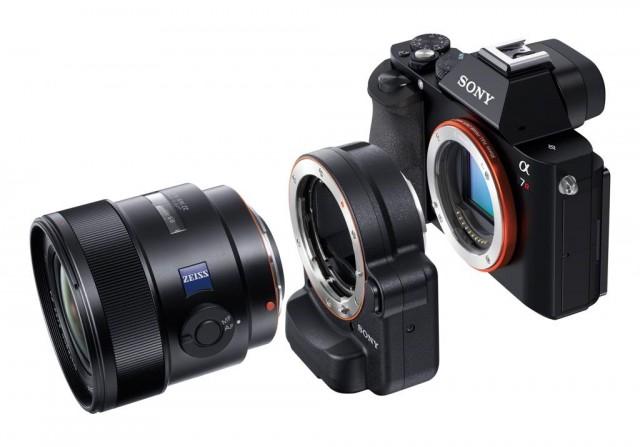 La bague intégrant l'autofocus pour objectifs Sony : 350€