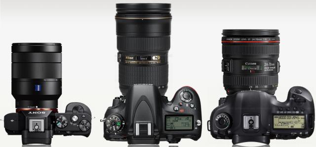 Avec un 24-70mm f/4 (f/2,8 pour le Nikon)