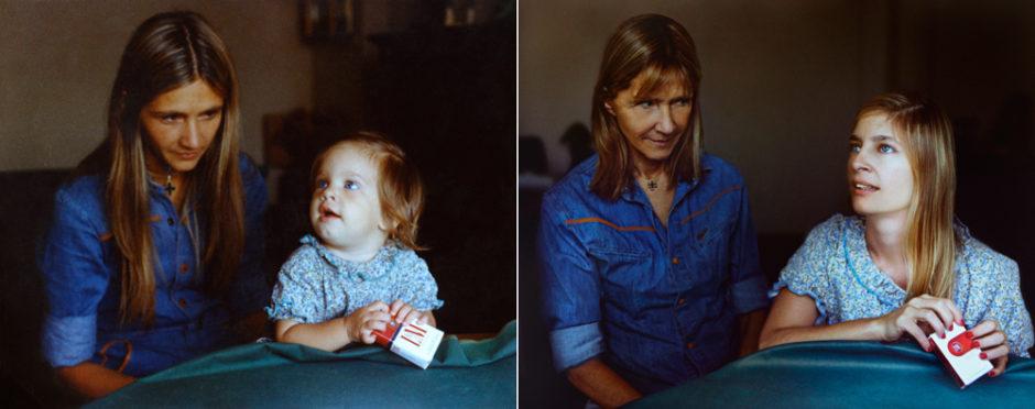 Marita et Coty 1977 & 2010 Bs Aires