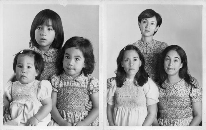 Les soeurs Morita 1979 & 2010 Bs Aires